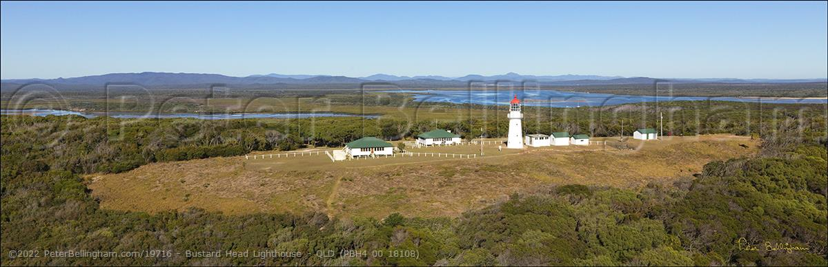 Peter Bellingham Photography Bustard Head Lighthouse - QLD (PBH4 00 18108)