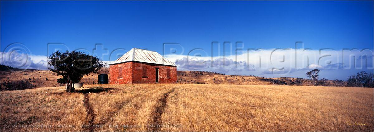 Peter Bellingham Photography Brick Shed - Near Richmond - TAS (PB00 2297)
