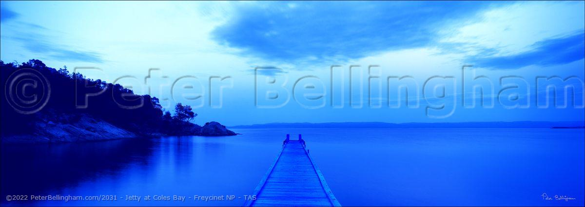 Peter Bellingham Photography Jetty at Coles Bay - Freycinet NP - TAS