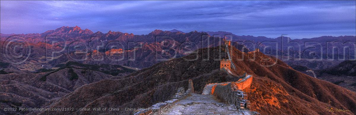 Peter Bellingham Photography Great Wall of China - China (PBH4 00 16048)