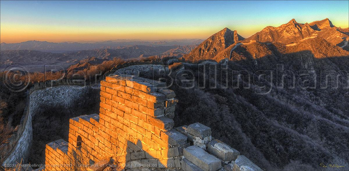 Peter Bellingham Photography Great Wall of China - China T (PBH4 00 16066)