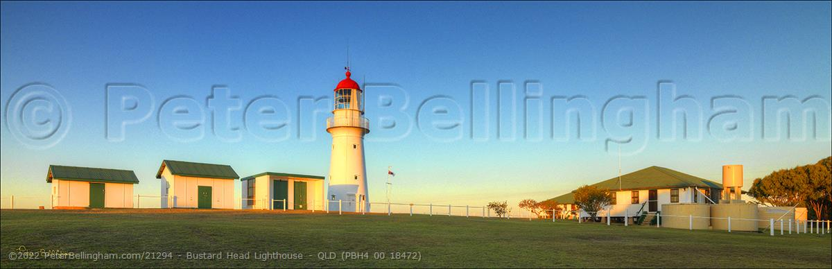 Peter Bellingham Photography Bustard Head Lighthouse - QLD (PBH4 00 18472)
