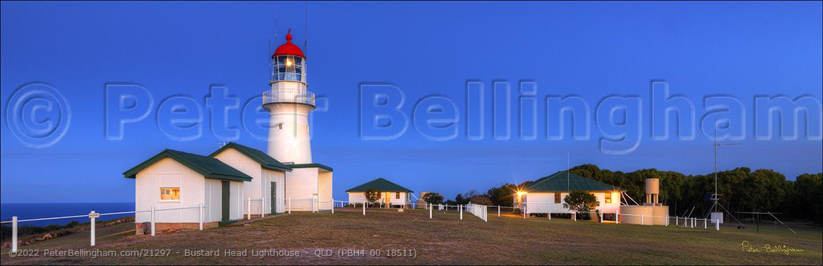 Peter Bellingham Photography Bustard Head Lighthouse - QLD (PBH4 00 18511)