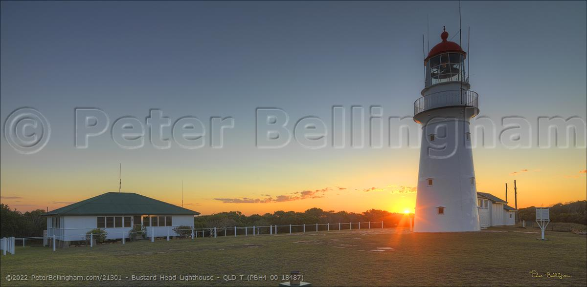 Peter Bellingham Photography Bustard Head Lighthouse - QLD T (PBH4 00 18487)