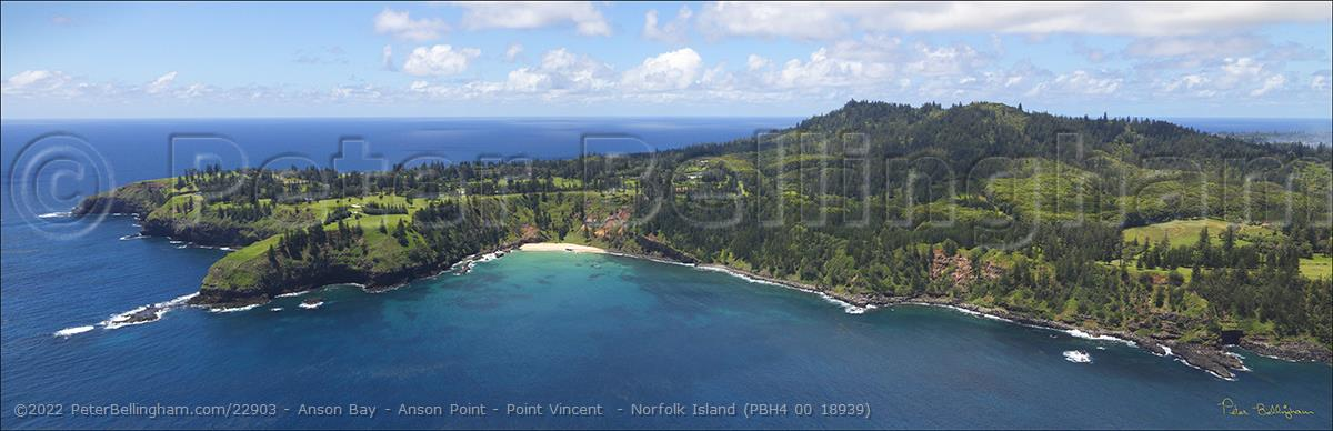 Peter Bellingham Photography Anson Bay - Anson Point - Point Vincent  - Norfolk Island (PBH4 00 18939)