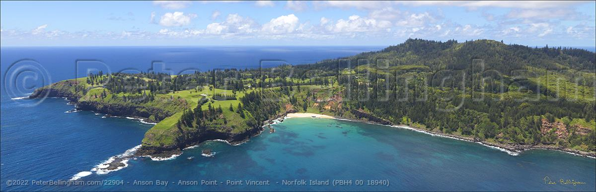 Peter Bellingham Photography Anson Bay - Anson Point - Point Vincent  - Norfolk Island (PBH4 00 18940)