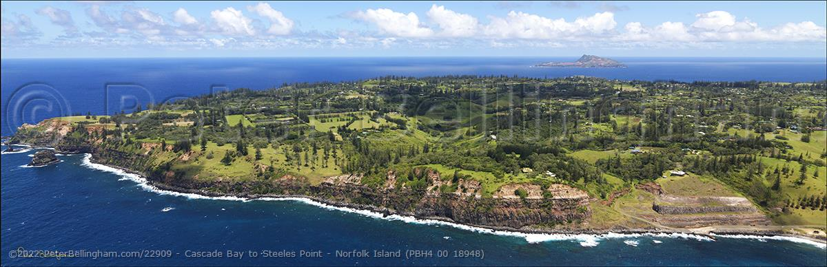 Peter Bellingham Photography Cascade Bay to Steeles Point - Norfolk Island (PBH4 00 18948)