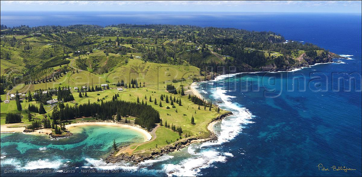 Peter Bellingham Photography Norfolk Island Golf Course T (PBH4 00 18994)
