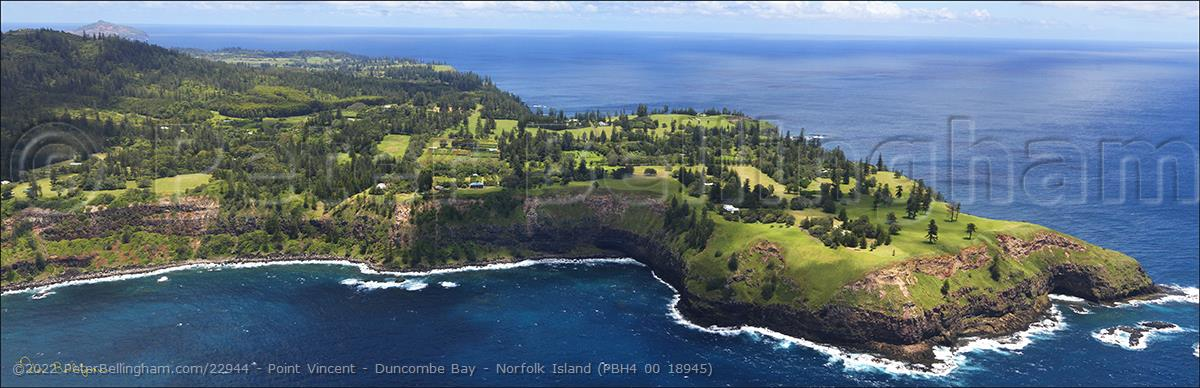 Peter Bellingham Photography Point Vincent - Duncombe Bay - Norfolk Island (PBH4 00 18945)