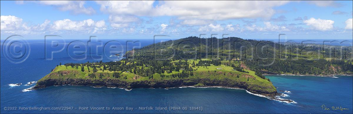 Peter Bellingham Photography Point Vincent to Anson Bay - Norfolk Island (PBH4 00 18941)