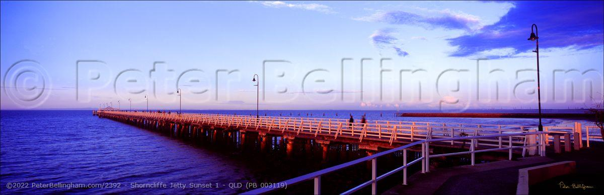 Peter Bellingham Photography Shorncliffe Jetty Sunset 1 - QLD (PB 003119)