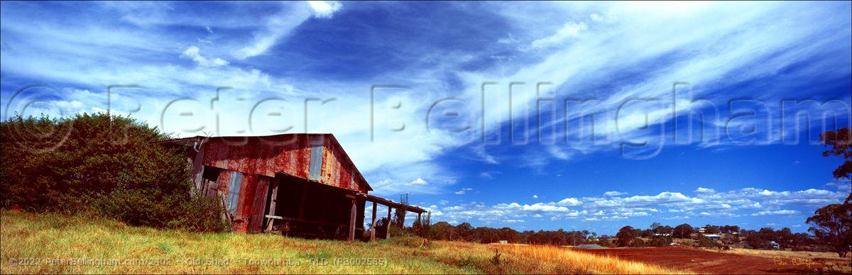 Peter Bellingham Photography Old Shed - Toowoomba -QLD (PB002585)