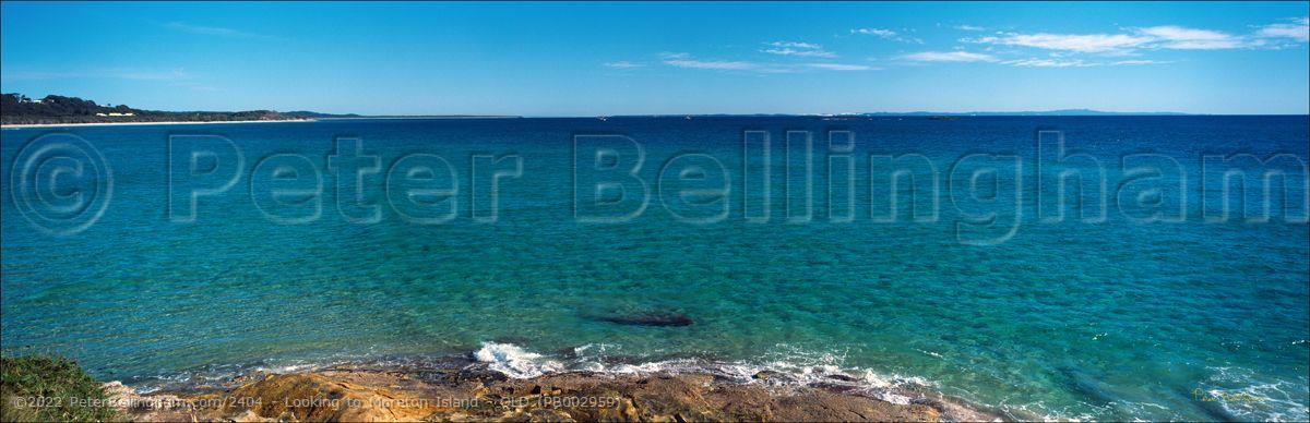 Peter Bellingham Photography Looking to Moreton Island - QLD (PB002959)