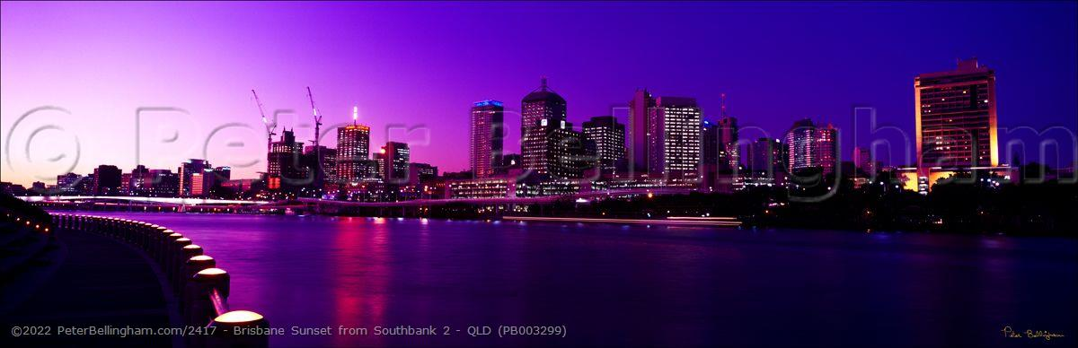 Peter Bellingham Photography Brisbane Sunset from Southbank 2 - QLD (PB003299)