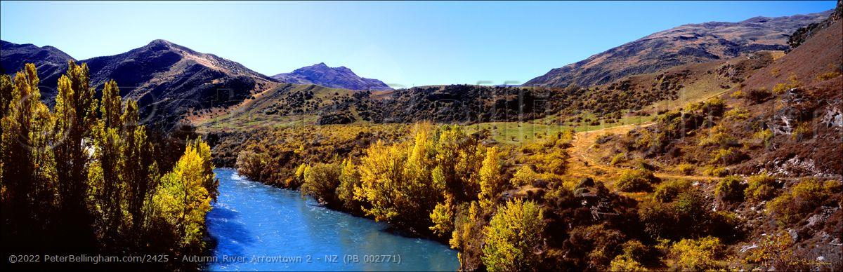 Peter Bellingham Photography Autumn River Arrowtown 2 - NZ (PB 002771)