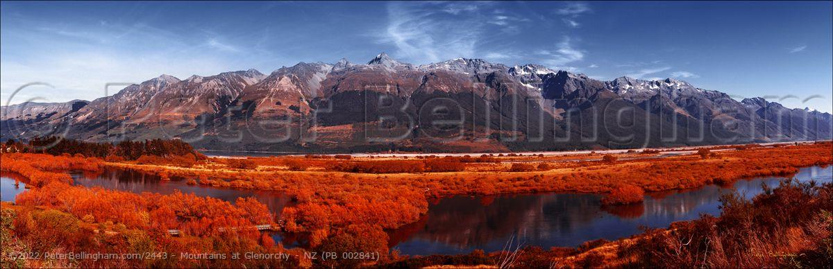 Peter Bellingham Photography Mountains at Glenorchy - NZ (PB 002841)