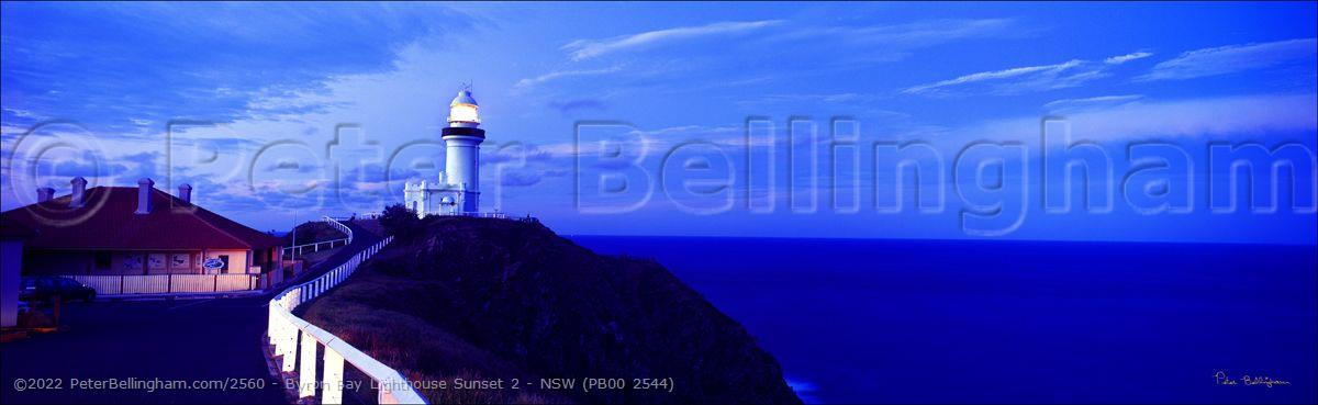 Peter Bellingham Photography Byron Bay Lighthouse Sunset 2 - NSW (PB00 2544)