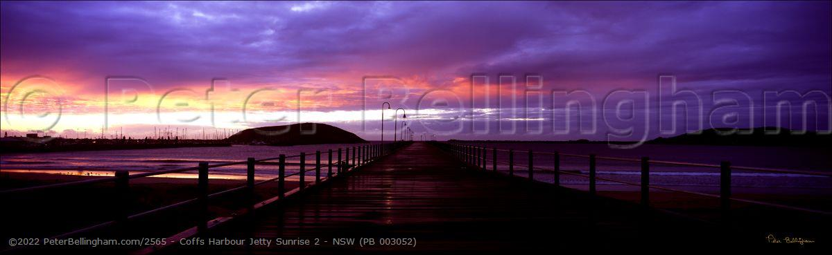 Peter Bellingham Photography Coffs Harbour Jetty Sunrise 2 - NSW (PB 003052)