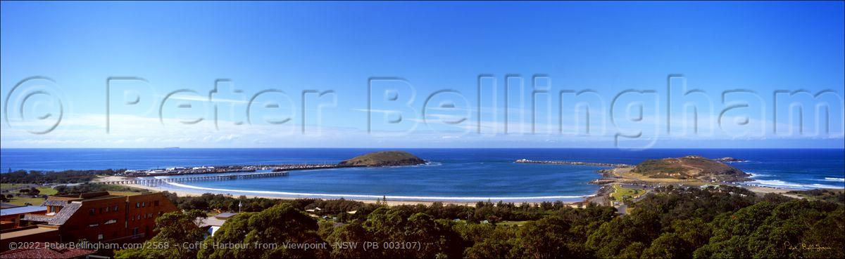 Peter Bellingham Photography Coffs Harbour from Viewpoint -NSW (PB 003107)