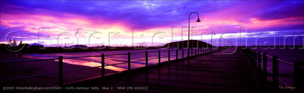 Peter Bellingham Photography Coffs Harbour Jetty  Blue 2 - NSW (PB 003053)