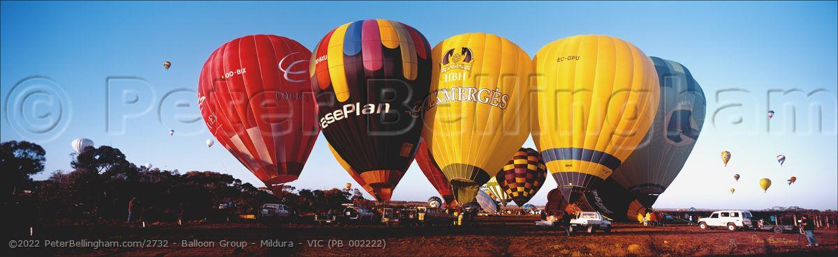 Peter Bellingham Photography Balloon Group - Mildura - VIC (PB 002222)