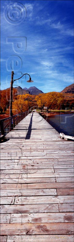 Peter Bellingham Photography Glenorchy Jetty Vertical - NZ (PB002908)