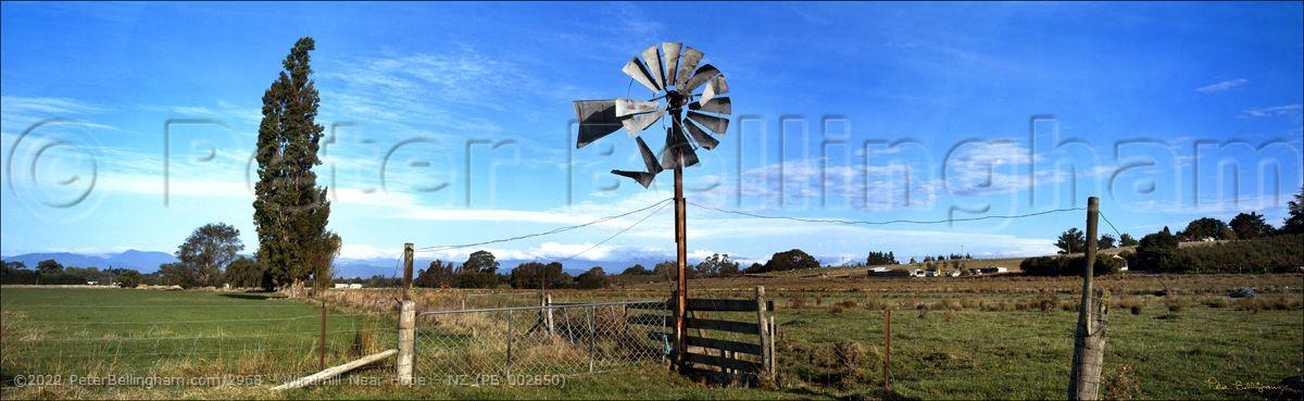 Peter Bellingham Photography Windmill Near Hope - NZ (PB 002850)