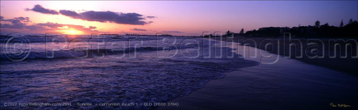 Peter Bellingham Photography Sunrise  - Currumbin Beach 1 - QLD (PB00 3784)