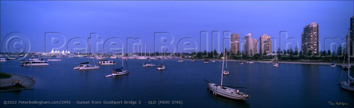 Peter Bellingham Photography Sunset from Southport Bridge 3  - QLD (PB00 3795)
