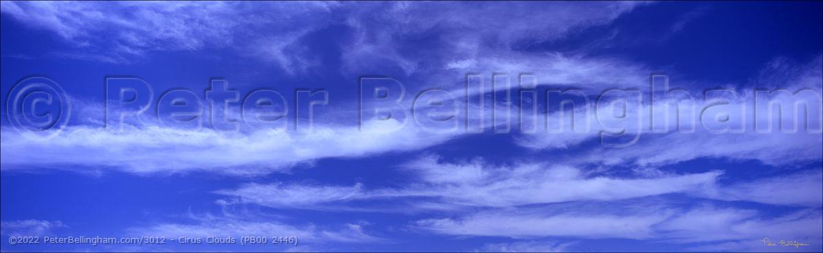 Peter Bellingham Photography Cirus Clouds (PB00 2446)