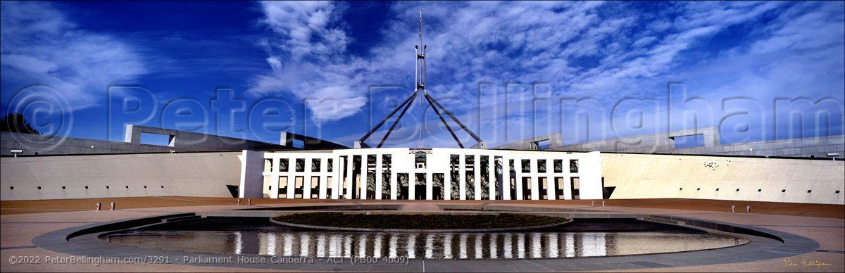 Peter Bellingham Photography Parliament House Canberra - ACT (PB00 4009)