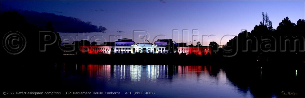Peter Bellingham Photography Old Parliament House Canberra - ACT (PB00 4007)