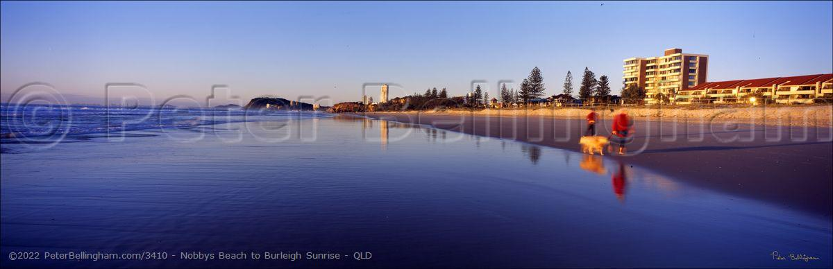 Peter Bellingham Photography Nobbys Beach to Burleigh Sunrise - QLD