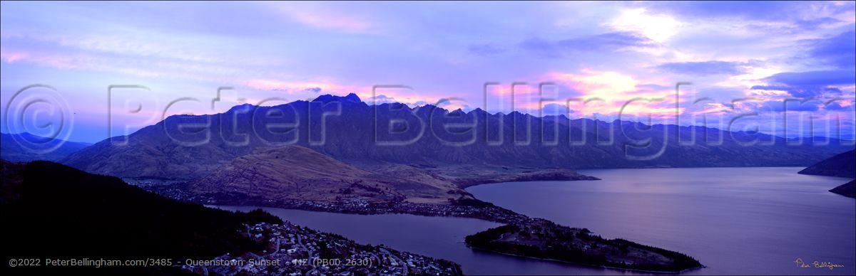Peter Bellingham Photography Queenstown Sunset - NZ (PB00 2630)