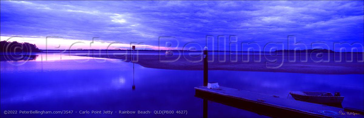 Peter Bellingham Photography Carlo Point Jetty - Rainbow Beach- QLD(PB00 4627)