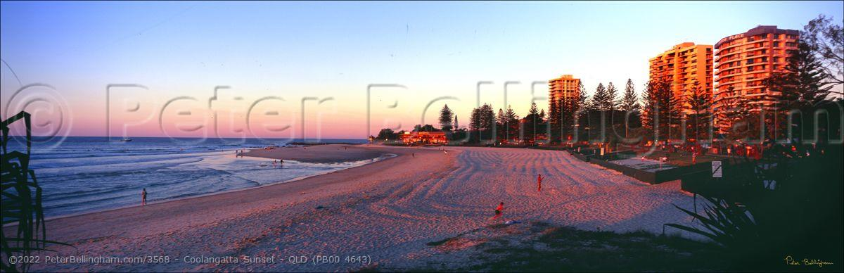 Peter Bellingham Photography Coolangatta Sunset - QLD (PB00 4643)