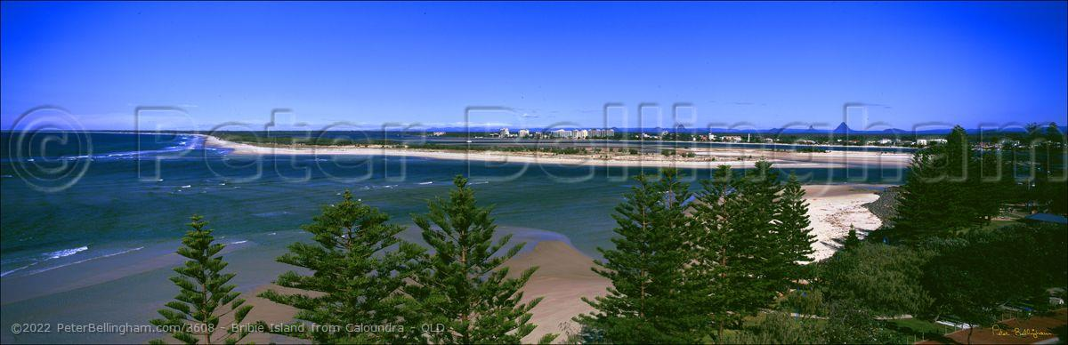 Peter Bellingham Photography Bribie Island from Caloundra - QLD