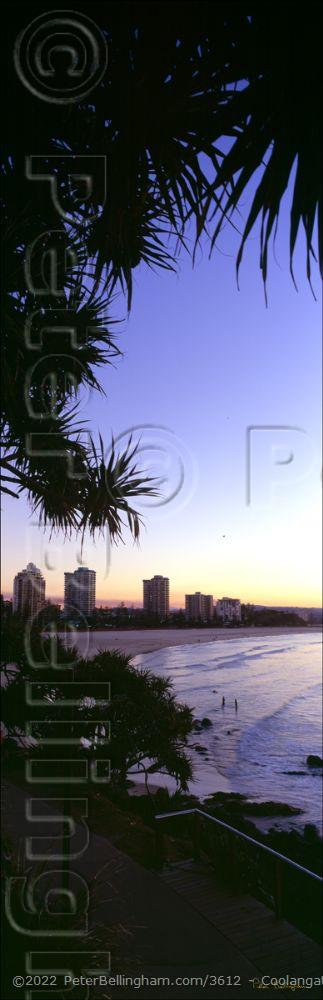 Peter Bellingham Photography Coolangata Sunset Vertical - QLD (PB00 4652)