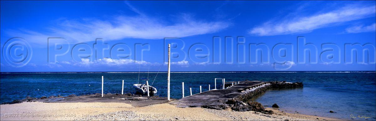 Peter Bellingham Photography Jetty on Coral Coast - Fiji (PB00 4824)