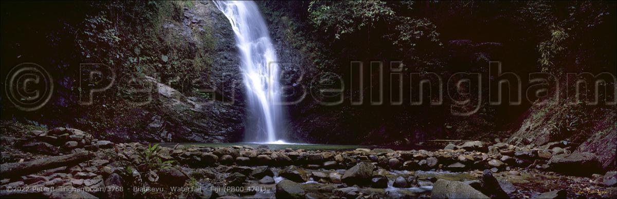 Peter Bellingham Photography Biausevu  Waterfall - Fiji (PB00 4781)