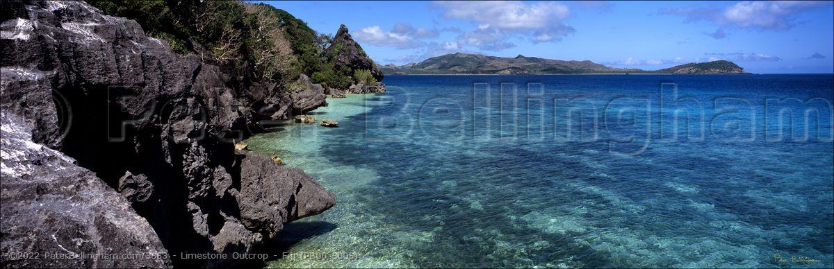 Peter Bellingham Photography Limestone Outcrop - Fiji (PB00 5005)