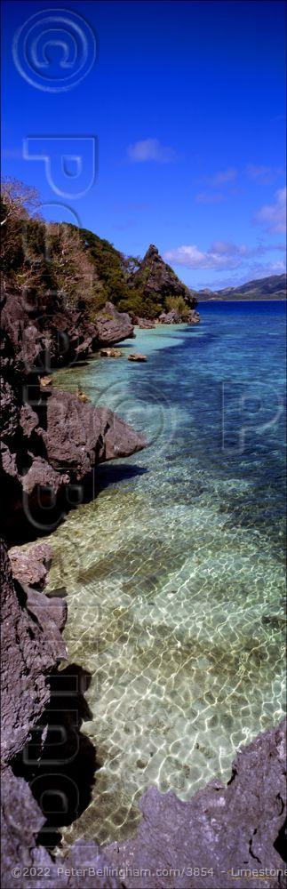 Peter Bellingham Photography Limestone Vertical - Fiji (PB00 5006)