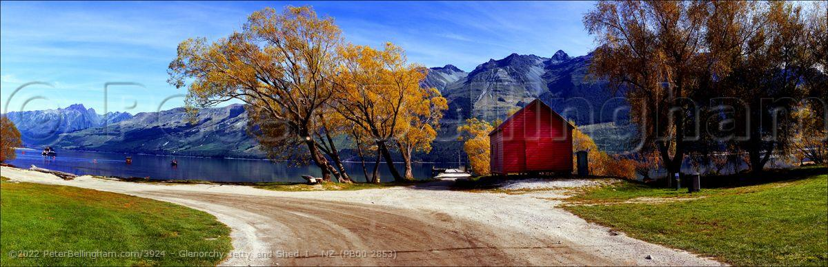 Peter Bellingham Photography Glenorchy Jetty and Shed 1 - NZ (PB00 2853)