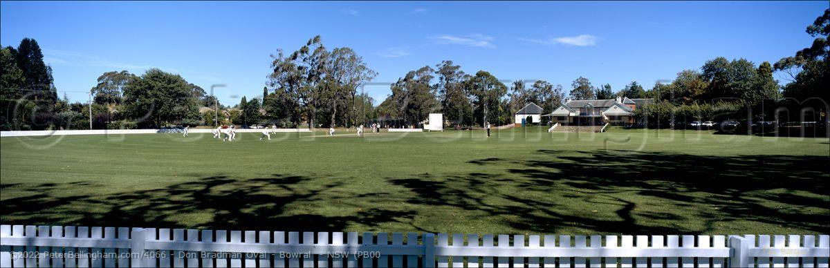 Peter Bellingham Photography Don Bradman Oval - Bowral  - NSW (PB00