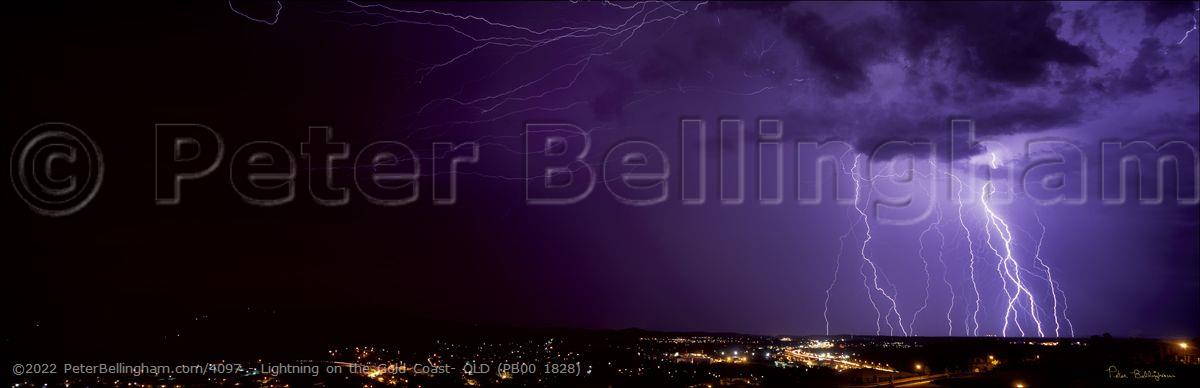 Peter Bellingham Photography Lightning on the Gold Coast- QLD (PB00 1828)