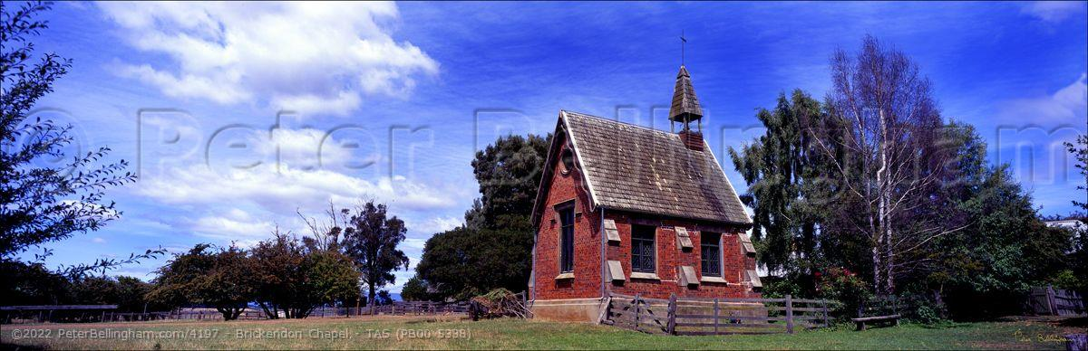 Peter Bellingham Photography Brickendon Chapel - TAS (PB00 5338)
