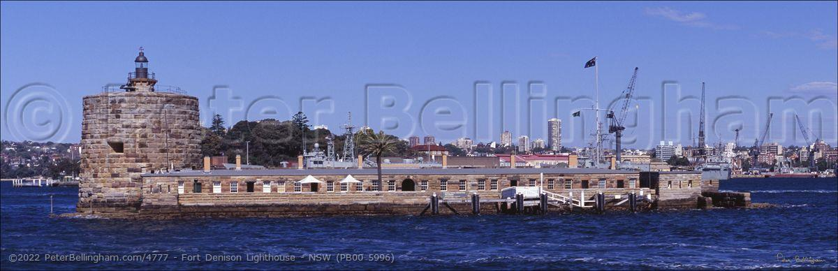 Peter Bellingham Photography Fort Denison Lighthouse - NSW (PB00 5996)