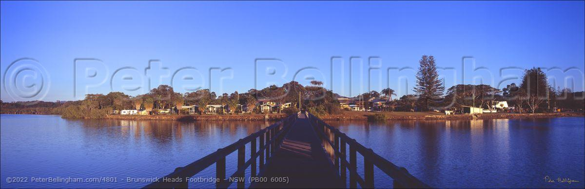 Peter Bellingham Photography Brunswick Heads Footbridge - NSW (PB00 6005)