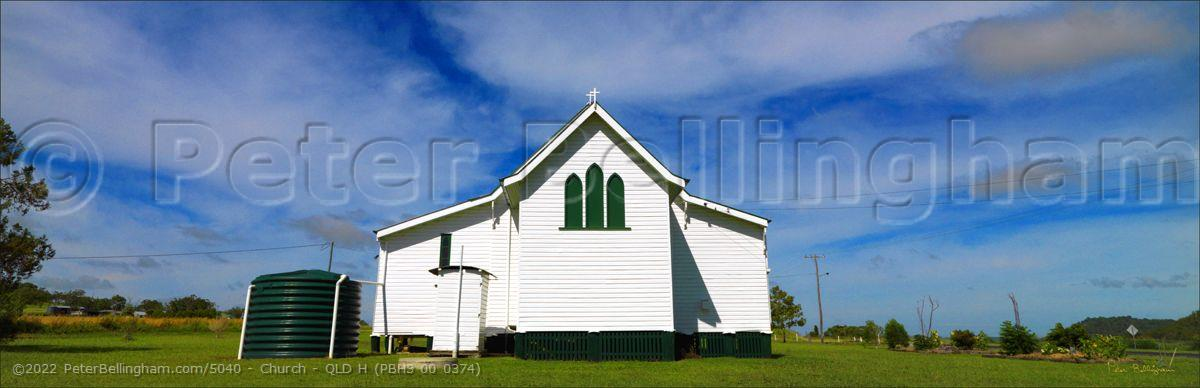 Peter Bellingham Photography Church - QLD H (PBH3 00 0374)