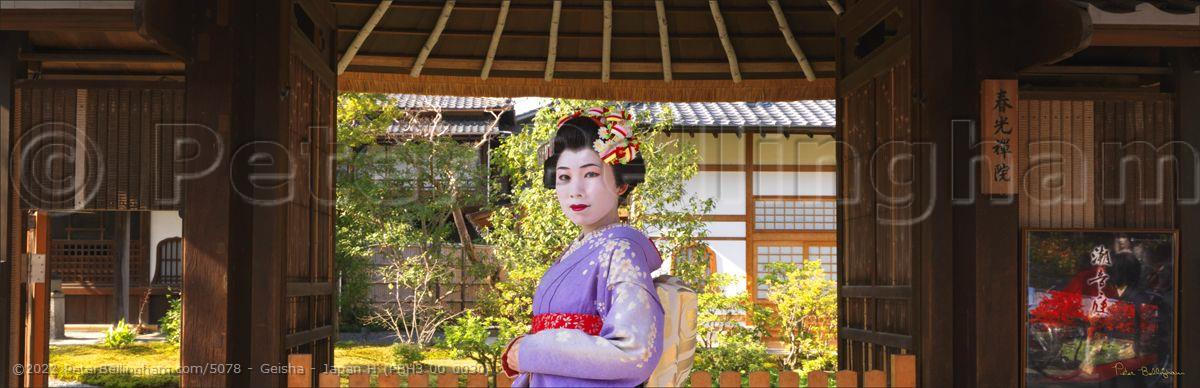 Peter Bellingham Photography Geisha - Japan H (PBH3 00 0030)